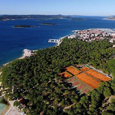Tennis Holidays Croatia, Ilirija tennis courts
