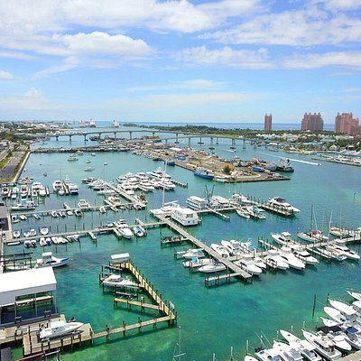 Drone Photography of Nassau Yacht Haven