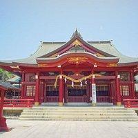 立派な拝殿