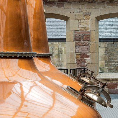 Our two spirit stills. Photography by Keith Hunter.