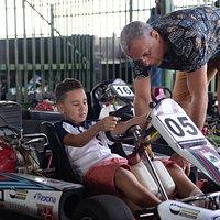 A Paixão pelo Kart surge desde cedo!