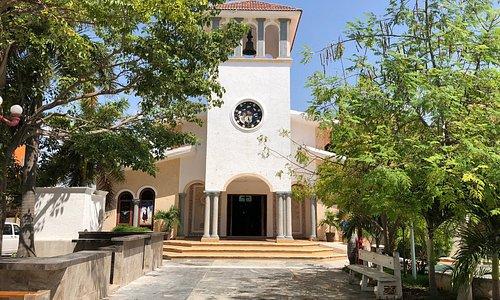 Outside of San Jose Church