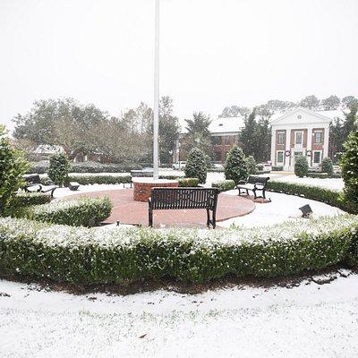 2018 Snowfall on campus