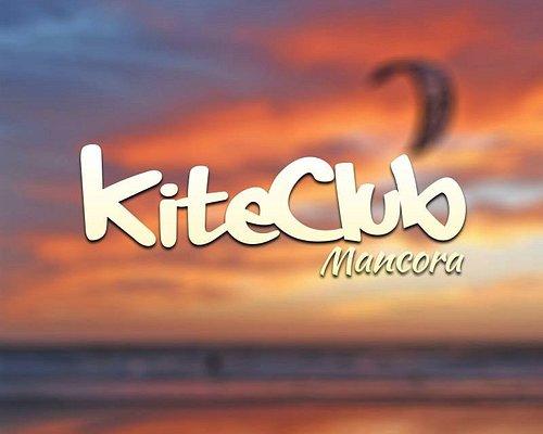 Amazing Mancora sun set with our logo
