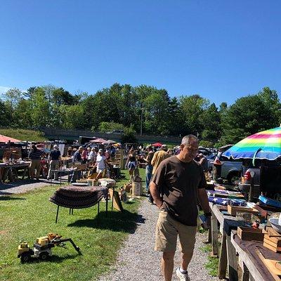 Treasure hunting at the Montsweag Flea Market
