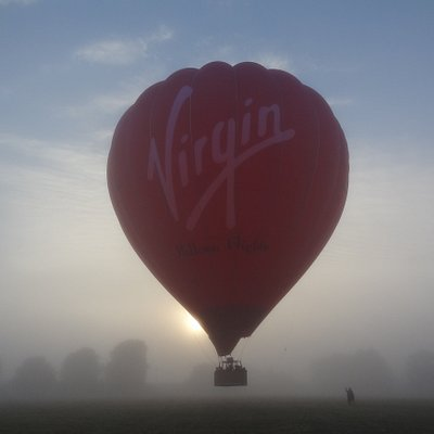 Ethereal sunrise balloon flight in Kent, thank you James and Damon for a wonderful experience.