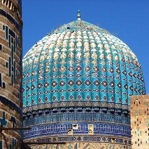 Bibikhanum mosque Samarkand kupol