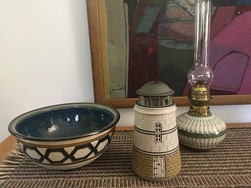 Three treasures from Gills Rock Pottery