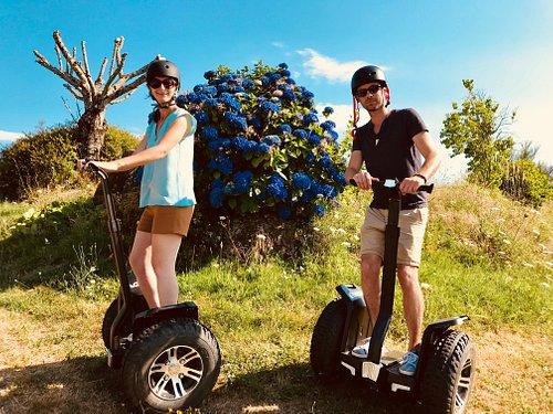Pour une balade en romantique, nature et sportive, optez pour le gyropode autour du lac du Coiro