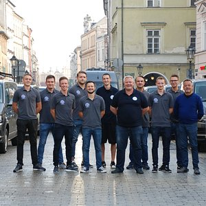 Our fleet and handsome drivers