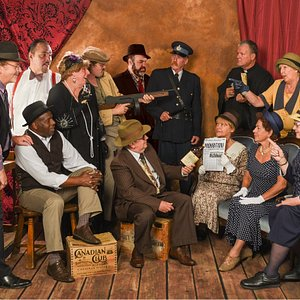 The cast of the Rum Runners Tour!