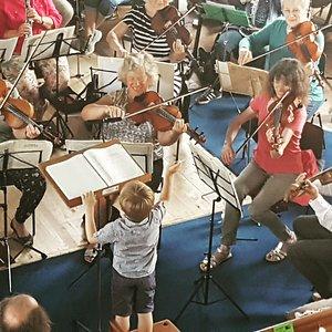 Orchestra at Ashburton Arts Centre, Devon
