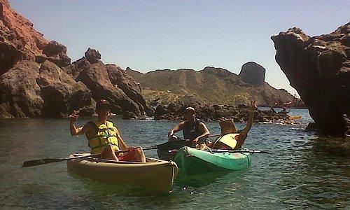 Un paseo en kayak