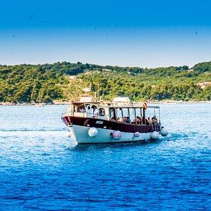 "Three Island Cruise with our boat ""BEBA"""