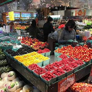colorful fruit and fresh vegetables