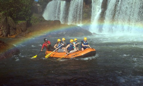 Início do rafting