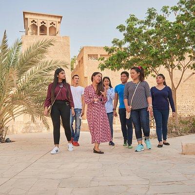 Bastakiya- Dubai_By_Foot
