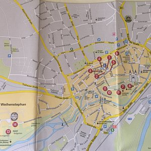 City Guide - sightseeing map