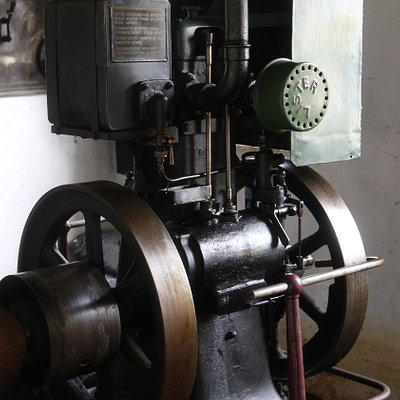 Den gamle dieselmotoren
