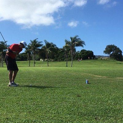 Fun day at Kohala Golf Park