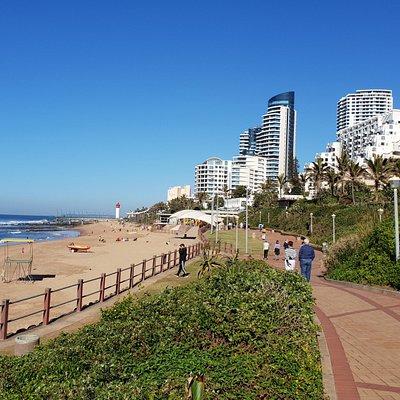 View of main beach looking towards Cabana Beach and Pearls.