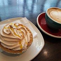 Lemon Meringue Pie & Coffee