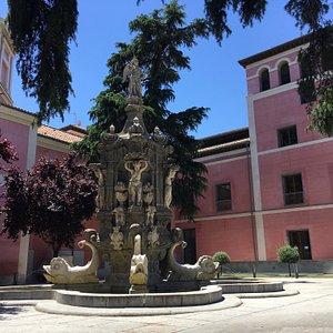 Courtyard at the Museo de Historia de Madrid
