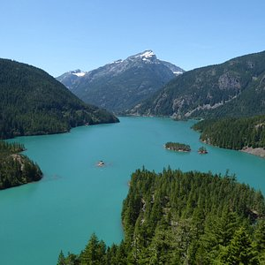Diablo Lake, on the North Cascades National Park Day Tour