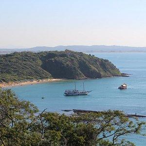 Paseo de Barco por la Baia de Buzios Playa Tartaruga!