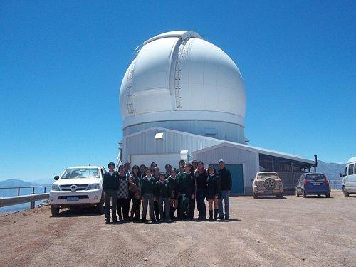 Visita con alumnos al Observatorio Gemini