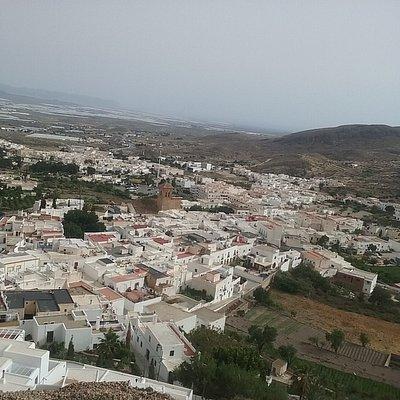 Vistas de Nijar desde la Atalaya