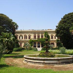 Vue de la Villa Malfitano à Palerme