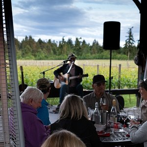 Join us for a Wine Wednesday with our talented local entertainers