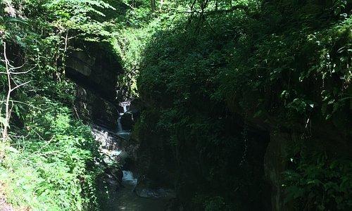 gorge du Chauderon near Montreux