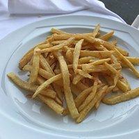 Patate fresche fritte al momento