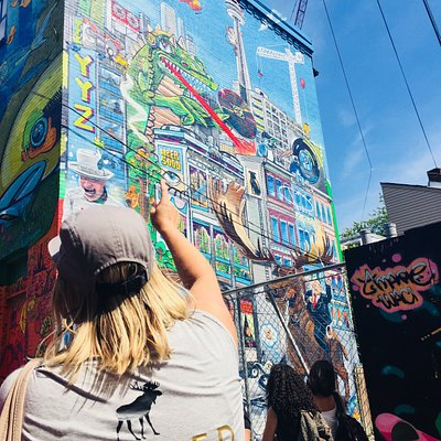 Graffiti Alley with Gaby, July 2018