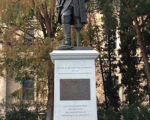 Monumento a Don Blas de Lezo