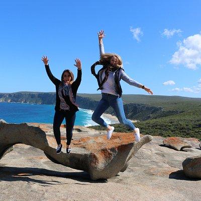 Kangaroo Island signature landmark of granite boulders known as the Remarkable Rocks