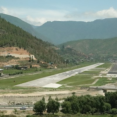 Paro Airport Runway