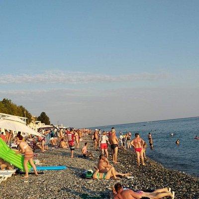 хороший пляж