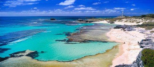 The basin @ Rottnest Island with Ningaloo Gamefishing Charters