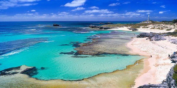 The basin @ Rottnest Island with Ningaloo Gamefishing Charters