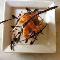 Gambero e totano in tempura