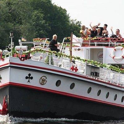 Event-Schiff in Berlin