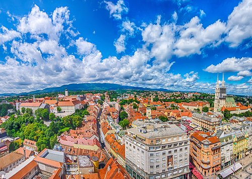 Zagreb 360° – observation deck and event venue is the most visited tourist attraction in Zagreb.