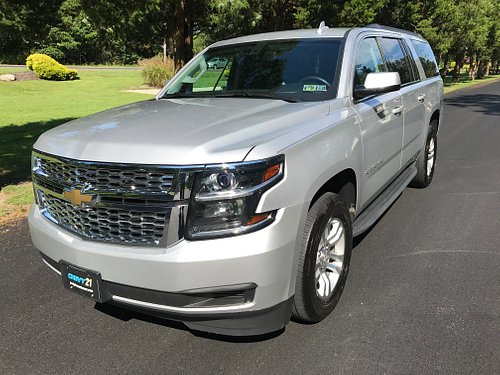 go to the airport in a full size chevy suburban