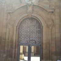 Porche d'entrée de l'église Sant'Ignazio