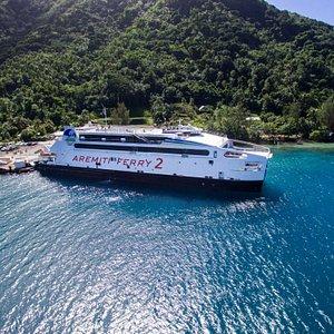 Le Ferry 2 est très spacieux et équipé de stabilisateurs qui le rendent plus stable.
