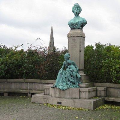 Princess Marie Statue on the Langelinie Promenade