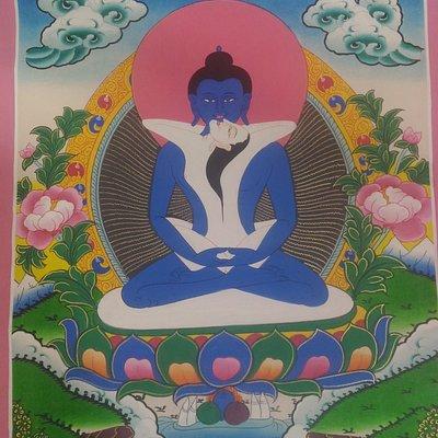 The Buddha Shakti painting